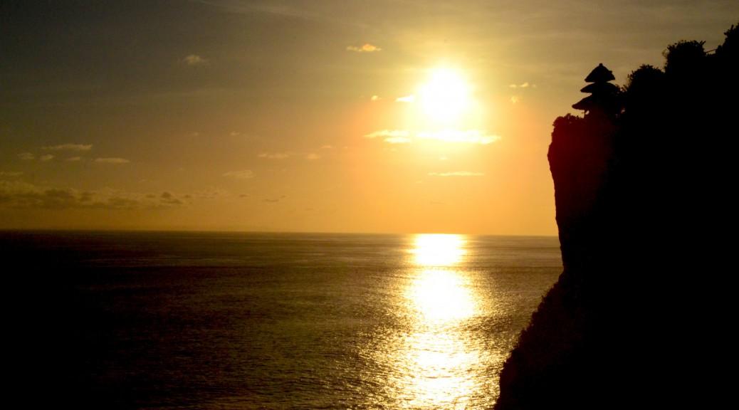 Bali - západ slunce