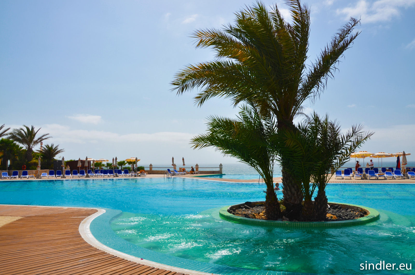 Hotel Iberostar Club Boa Vista bazén s palmami